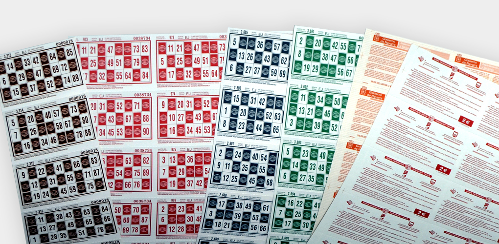 Impresión de Cartones de Bingo