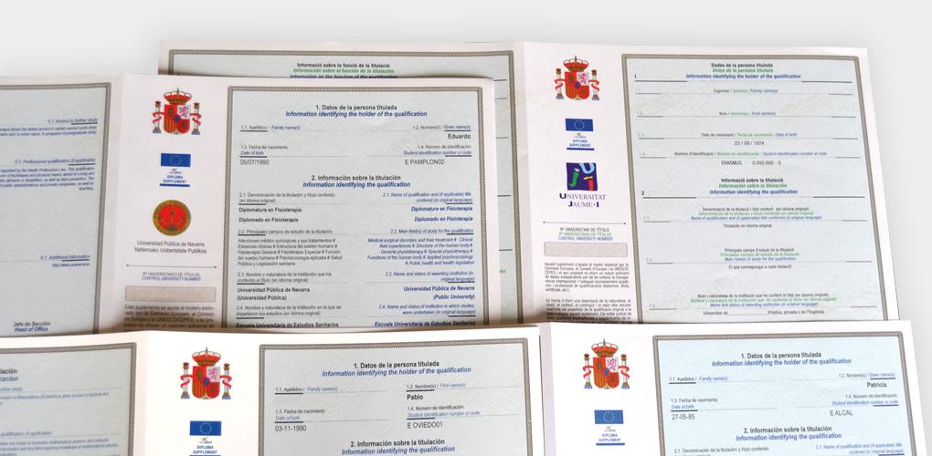 Suplemento Europeo al Título (SET)