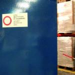 Puerta Acorazada del almacén
