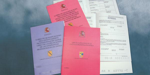 Libros de calificaciones
