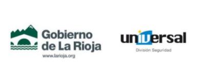 Logos Gobierno de la Rioja e Imprenta Universal